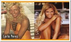 Carla Peres nua - antes e depois