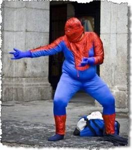 0822 Zuando os herois Spider MAM