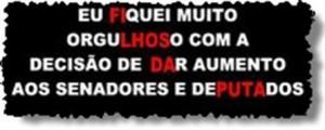 adesivo que circula em brasilia