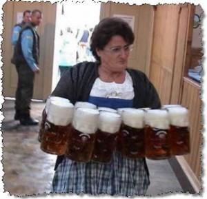 traz a cerveja muié