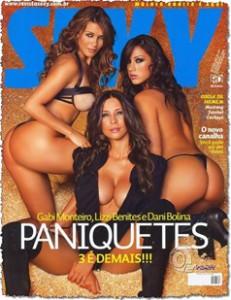 Fotos paniquetes peladas, Gabi Monteiro, Lizzi Benites e Dani bolina tudo pelada