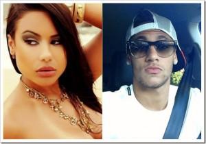 A modelo Patricia Jordane ficou em destauqe apos assumir um relacionamento com o Neymar Jr.