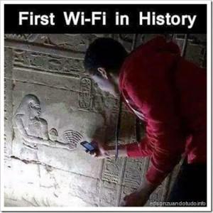 zuando o wifi: primeiro wifi da historia