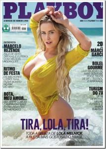 Playboy Dezembro 2014 Lola Melnick